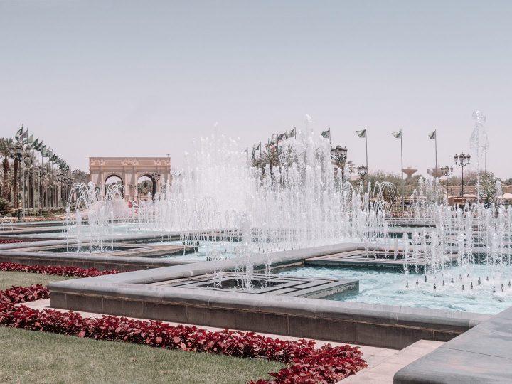 Fountains at Ritz Carlton