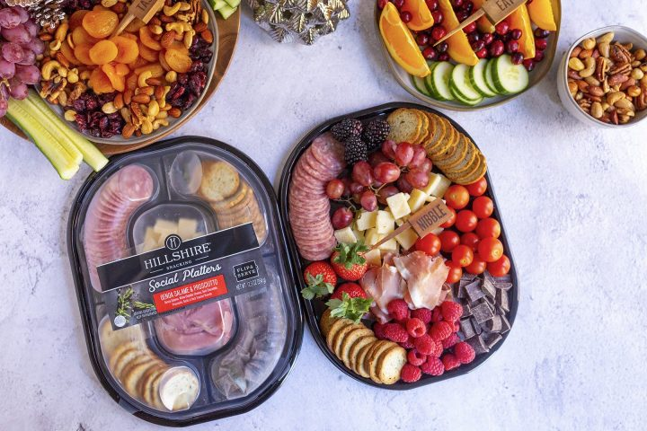 How to set up an easy snacking station this holiday season for a quick no cook entertaining solution