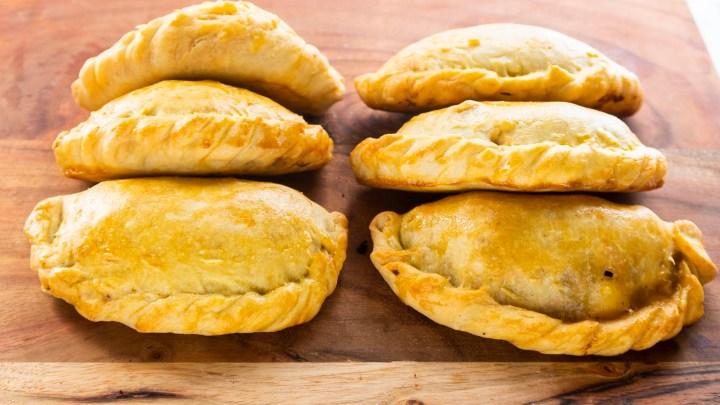 Homemade Baked Empanadas