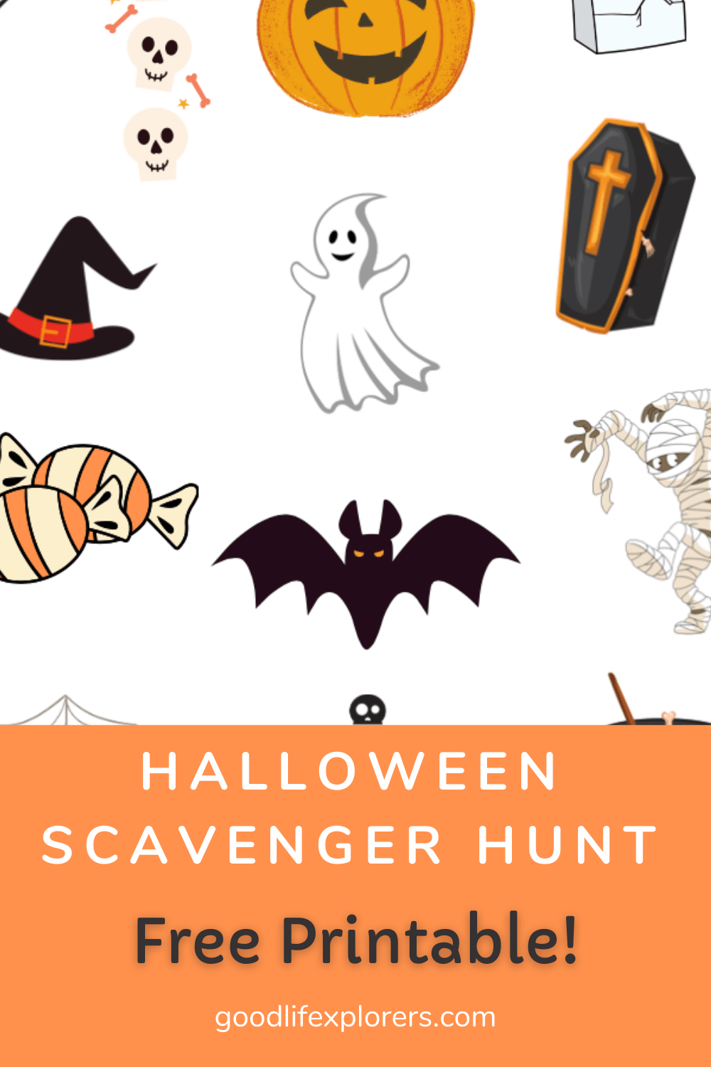 Halloween Books For Preschool Kids + Free Printable