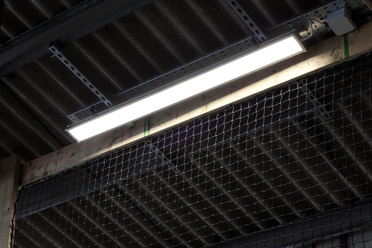 G5 Led Batten Luminaire Smart Sensor Ip65 Twin Tube