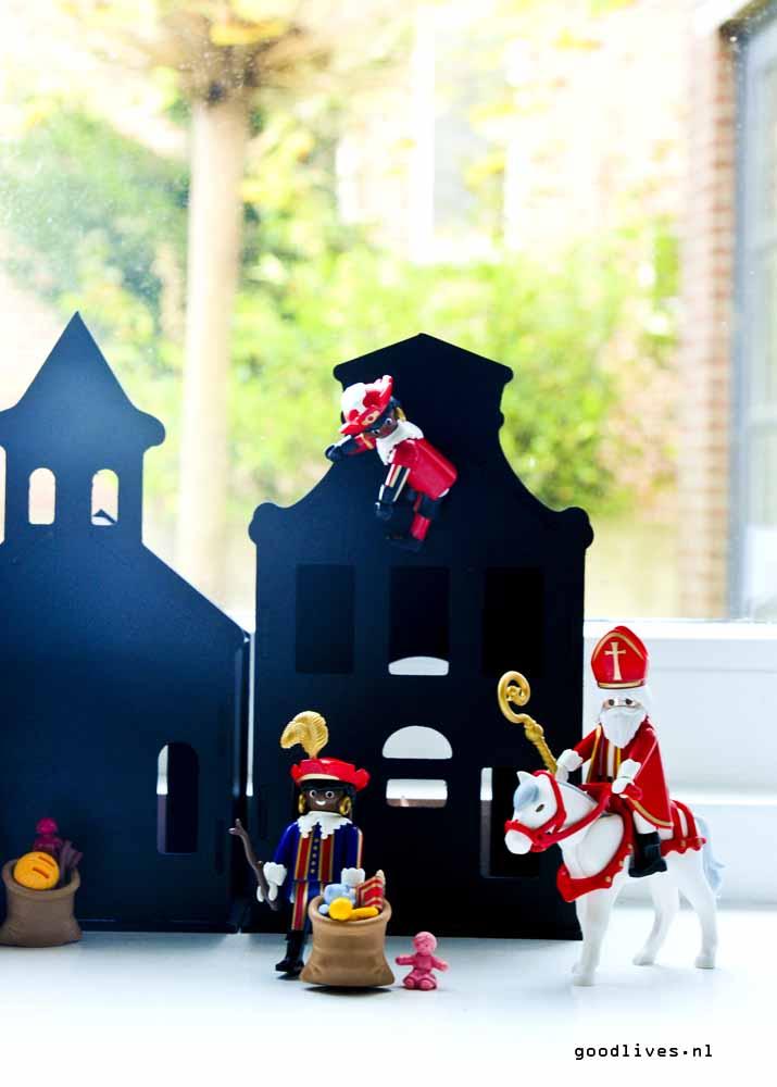 Sinterklaas en zwarte piet playmobil