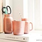 DIY: koperkleurige mason jars en weck potten