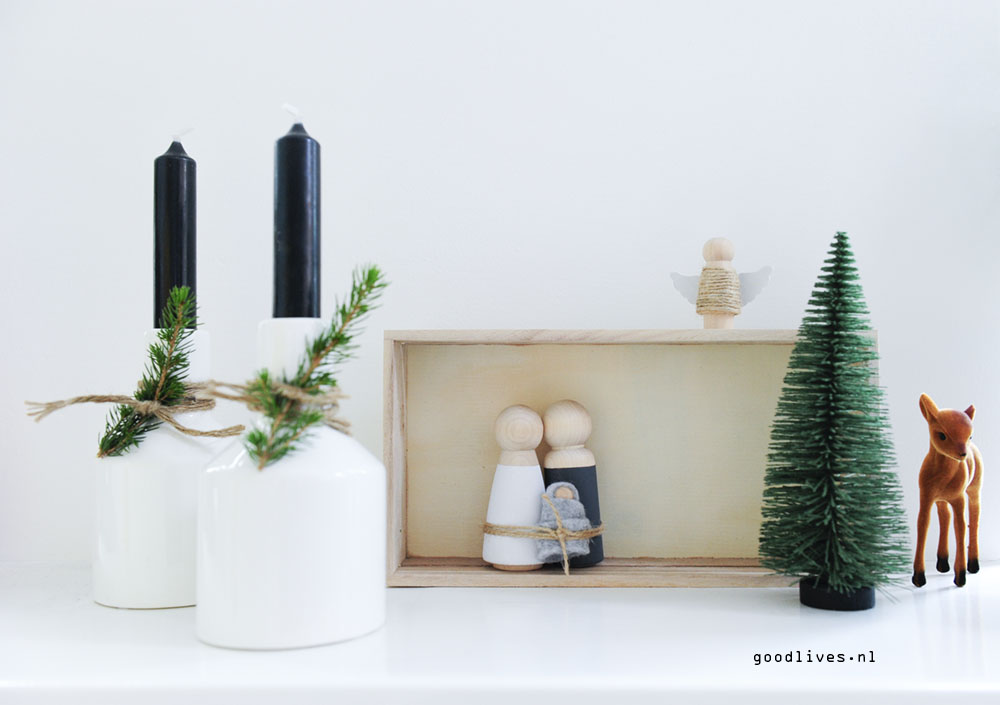 DIY Kerststal Goodlives interior 2017