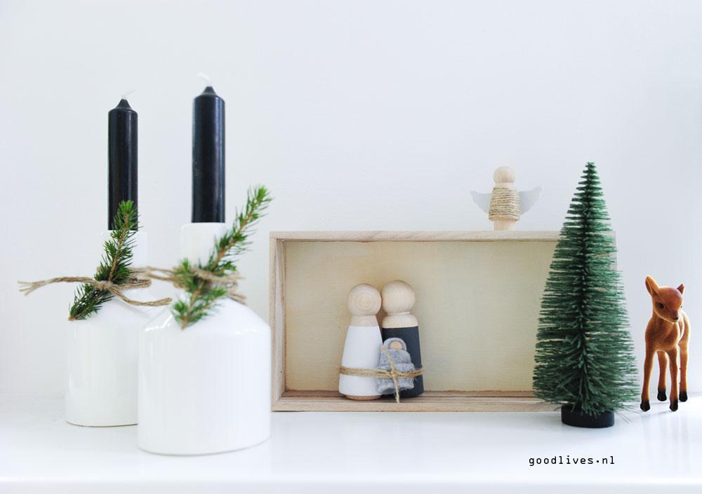 DIY Kerststal Goodlives interior 2017