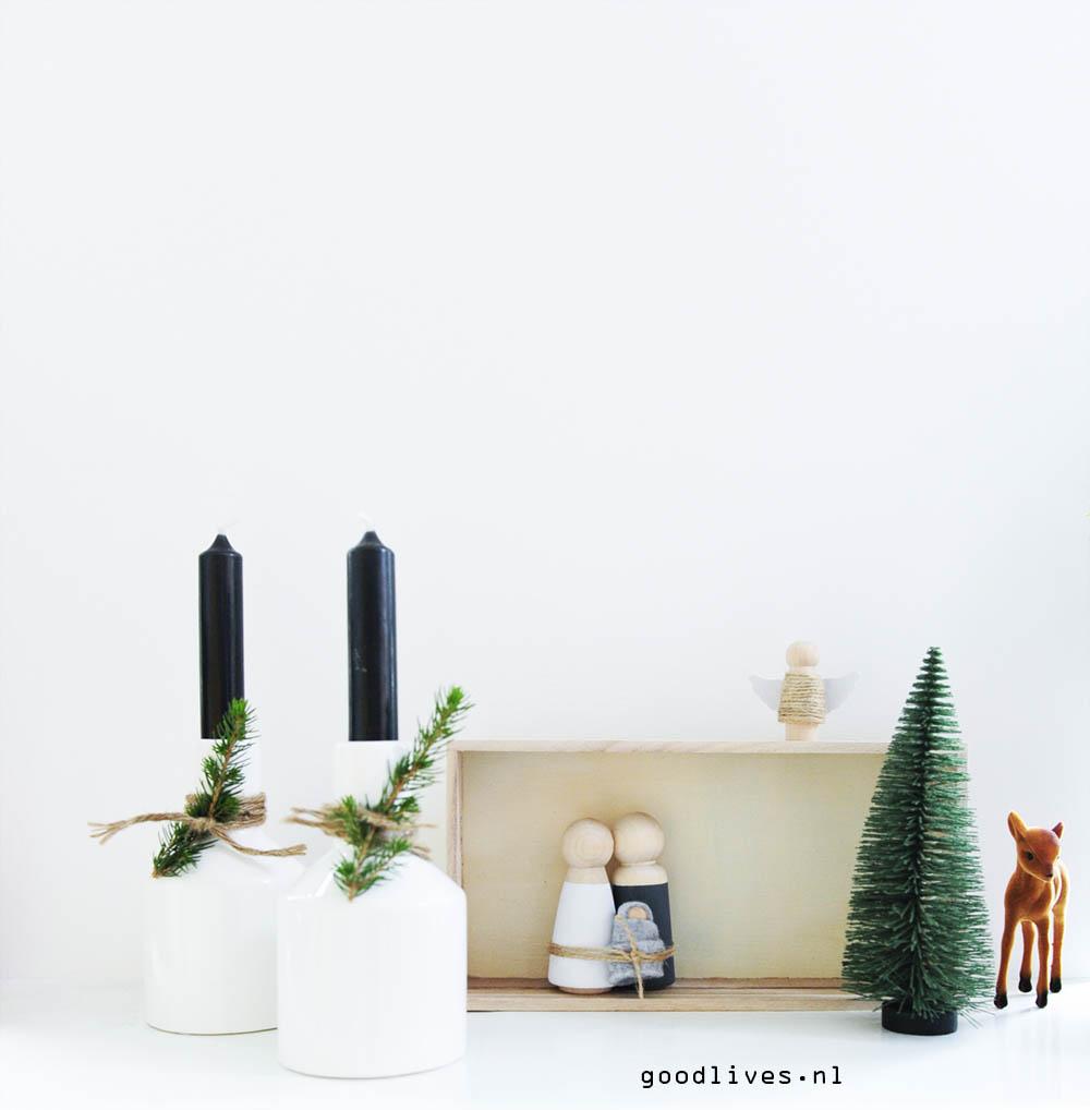 DIY Christmas crib 2017 - Goodlives interior