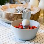 Pasen: DIY bakje voor paaseitjes met paashaas