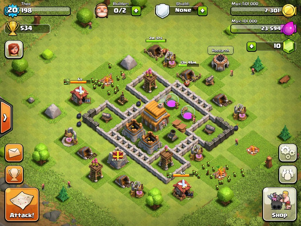 Really Good Base Clash Clans Town Hall Level 8