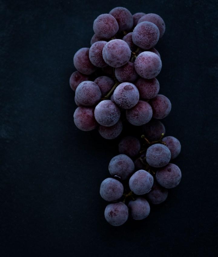 Frosne druer