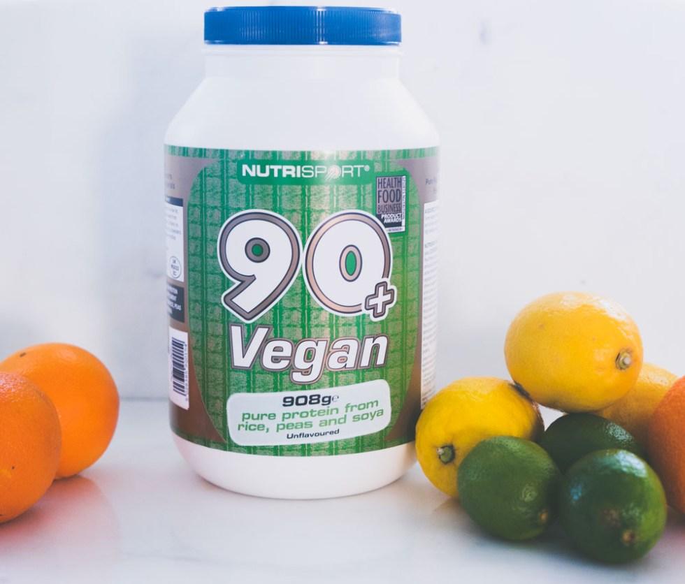 Nutrisport 90+ vegan uten smak