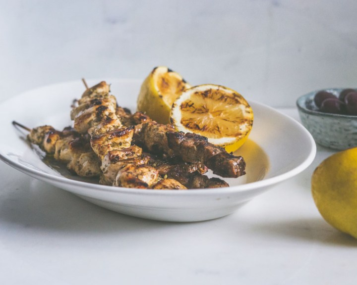 souvlaki - grillspyd
