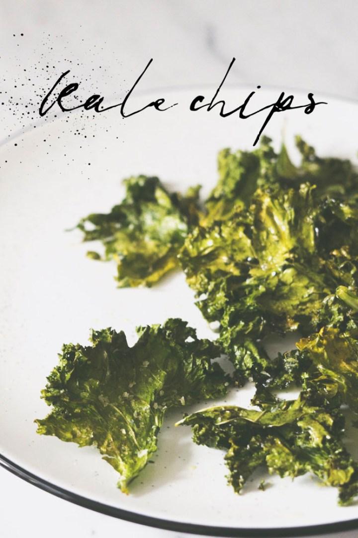 Kale chips, grønnkål chips