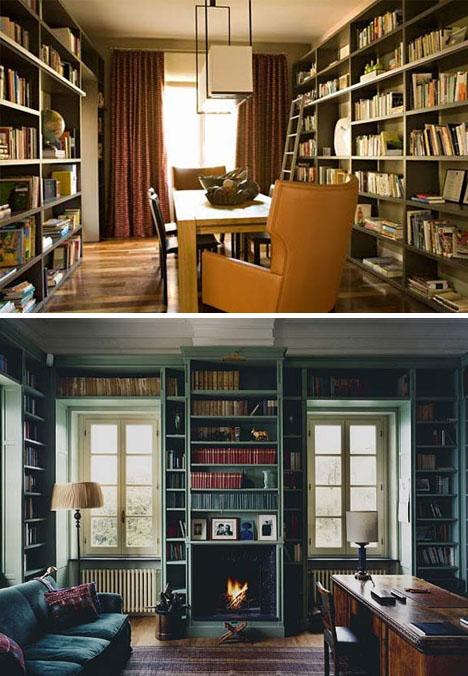 Floor Classic Book Storage