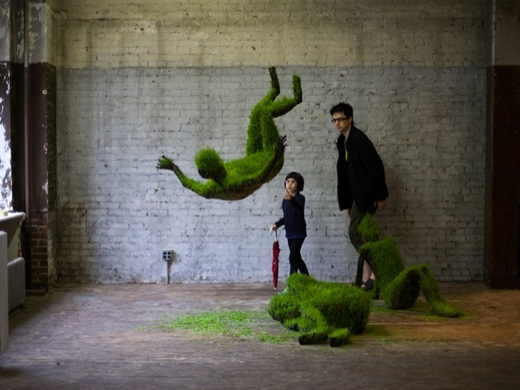 Growing Grass Sculptures 7