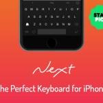 PDJ : Lundi 29 Décembre – Next, Le clavier parfait pour iPhone