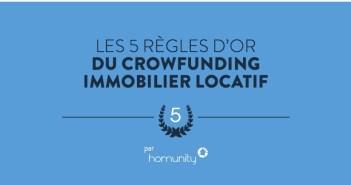Les 5 règles d'or du Crowdfunding Immobilier Locatif