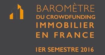 Barometre Crowdfunding Immobilier 1er semestre fundimmo
