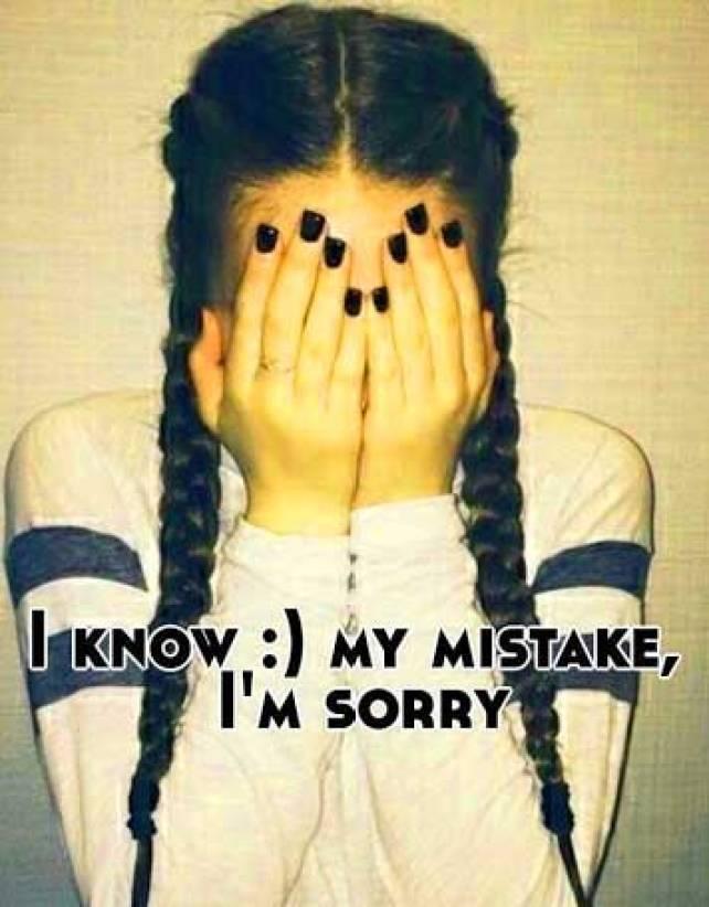 Best Sorry Whatsapp Dp wallpaper Photo