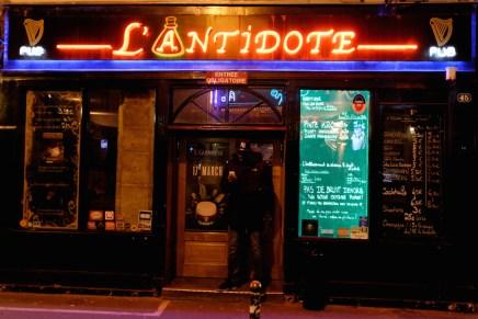Bar Rue Descartes-Paris latin quarter