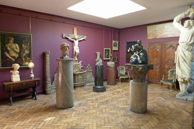 Musee Bourdelle Paris_Paintings Studio