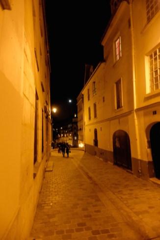 In the rue Rollin-Paris latin quarter