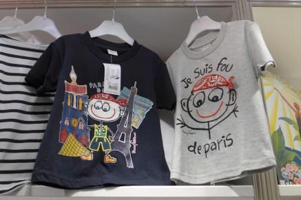 passion france_Tshirt kid paris