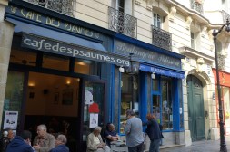 Cafe des psaumes rue des Rosiers - Paris