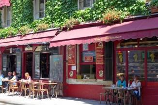 Jewish area Marais-Chez Marianne rue des Rosiers