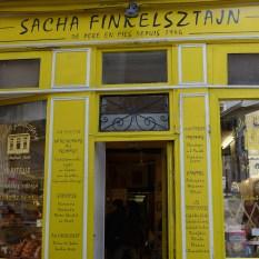 Jewish area Marais-Finkelsztan rue des Rosiers