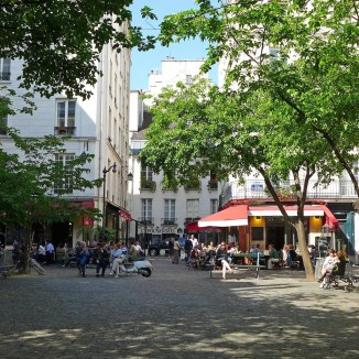 Restaurants Place du Marché Sainte Catherine - Marais - Paris
