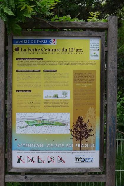 La Petite Ceinture du 12eme arrondissement Paris