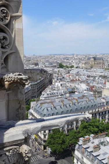 Gargoyles on top of the Tour Saint Jacques