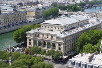 The Theatre du Chatelet from the Tour Saint Jacques