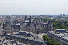 The Hotel de Ville from the Tour Saint Jacques