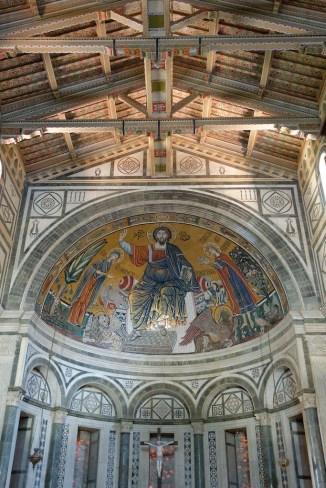 Florence-San Miniato-the choir