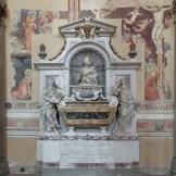 Florence-Santa Croce-Galileo's tomb