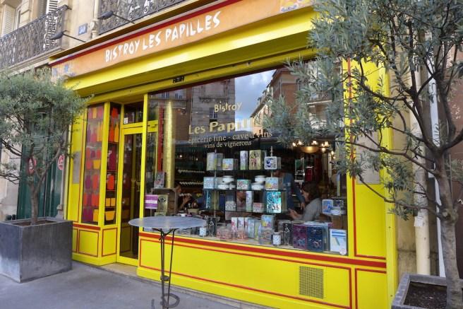 Paris-Restaurant Les Papilles