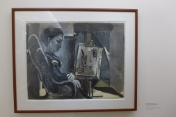 Musee-Picasso-Jacqueline dans l atelier