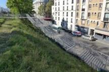 Petite Ceinture du 15eme-Paris-Stairs Place Balard