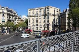 Petite Ceinture du 15eme-Paris-VIew on the Place Balard