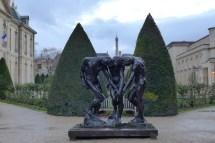 Musée Rodin-Paris-The three shades, in the garden