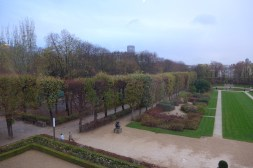 Musée Rodin-Paris-View on the garden from Room 9