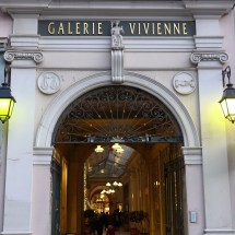 Entrance of the Galerie Vivienne-Paris-rue VIvienne