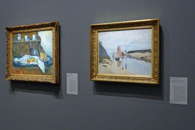 chefs-d-oeuvre-de-budapest-paris-Monet et Cezanne