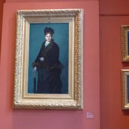 Musee Henner-La femme au parapluie