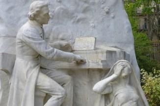 Parc Monceau Paris - Chopin Memorial
