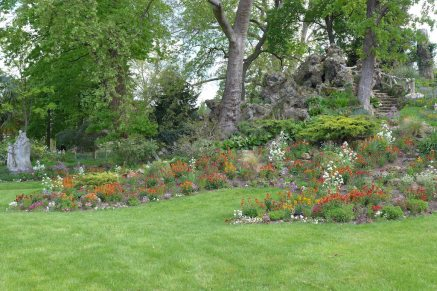 Parc Monceau Paris - Flowers