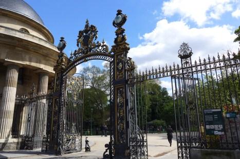 Parc Monceau Paris - Entrance Boulevard de Courcelles