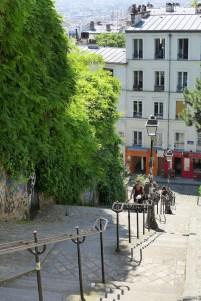 Montmartre-Stairs-rue du Calvaire