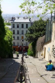 Montmartre-Paris-rue du calvaire